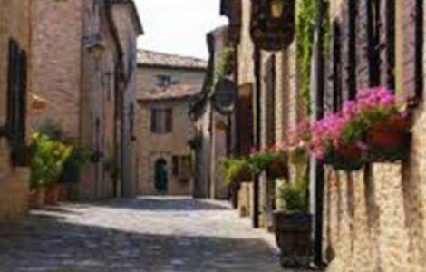 Montegridolfo centro storico